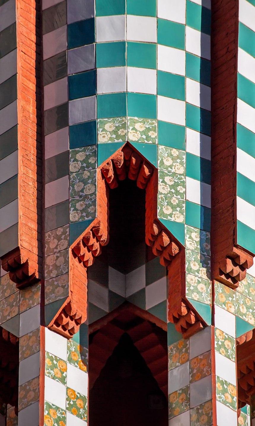 Casa de Antonio Gaudí - Columnas