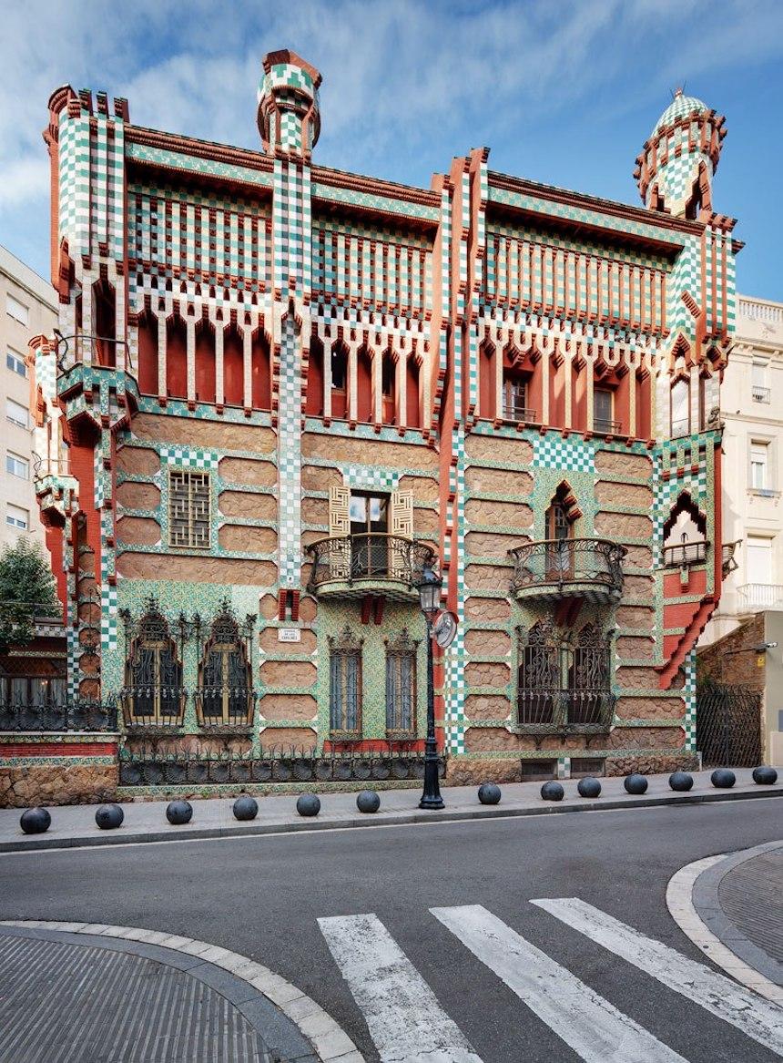 Casa de Antonio Gaudí - Vista completa desde fuera