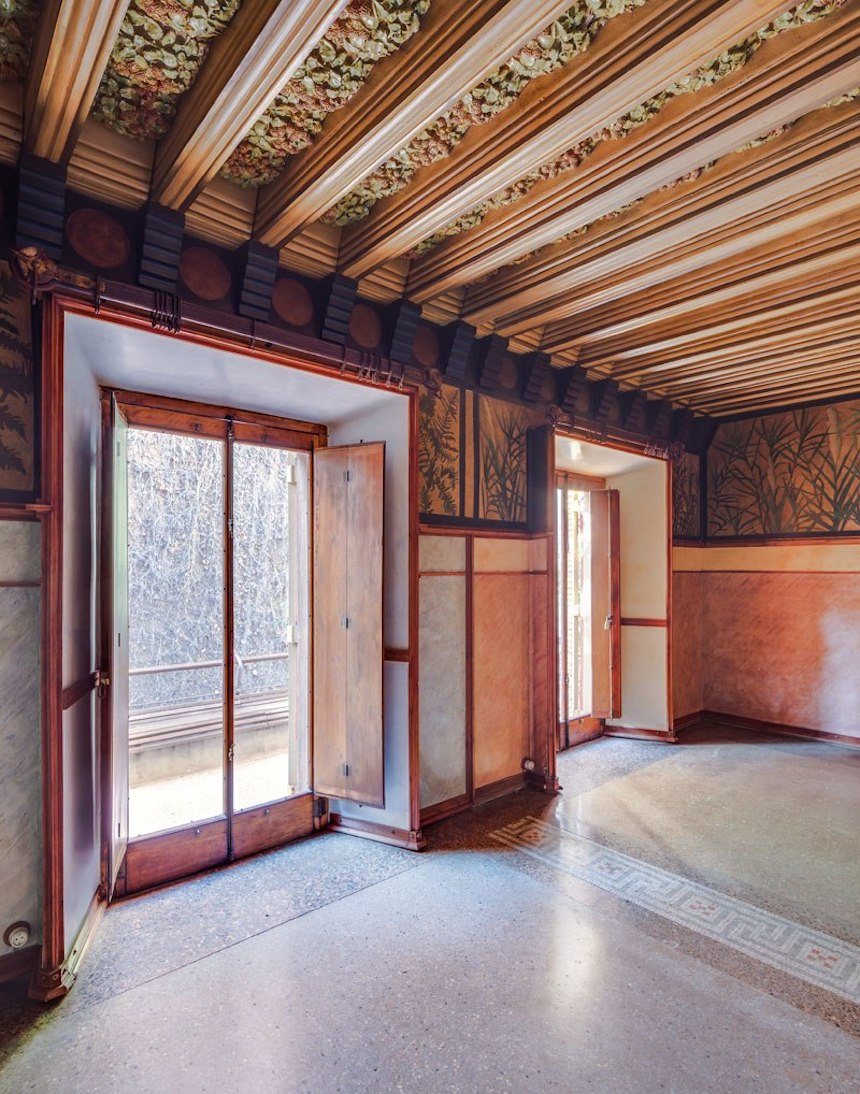Casa de Antonio Gaudí - Habitaciones