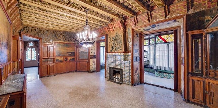 Casa de Antonio Gaudí - Sala