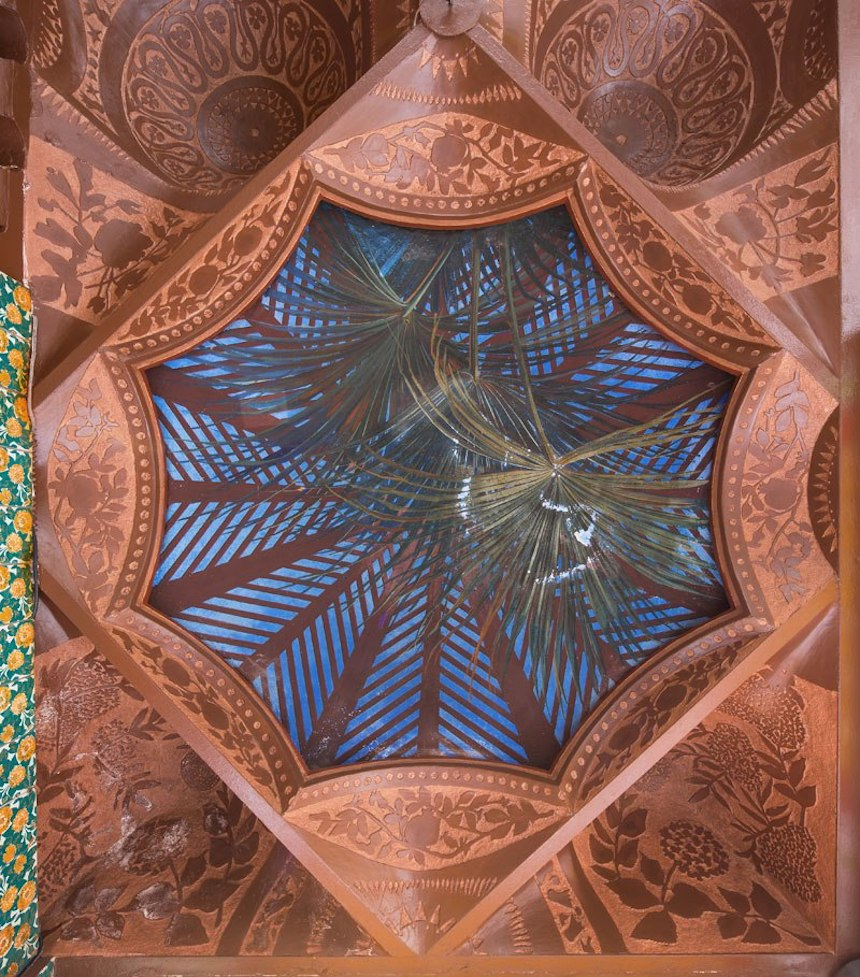 Casa de Antonio Gaudí - Acabados en el techo