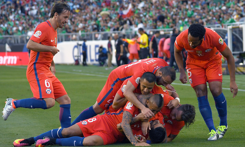 Chile está en la Confederaciones con base de la Liga MX