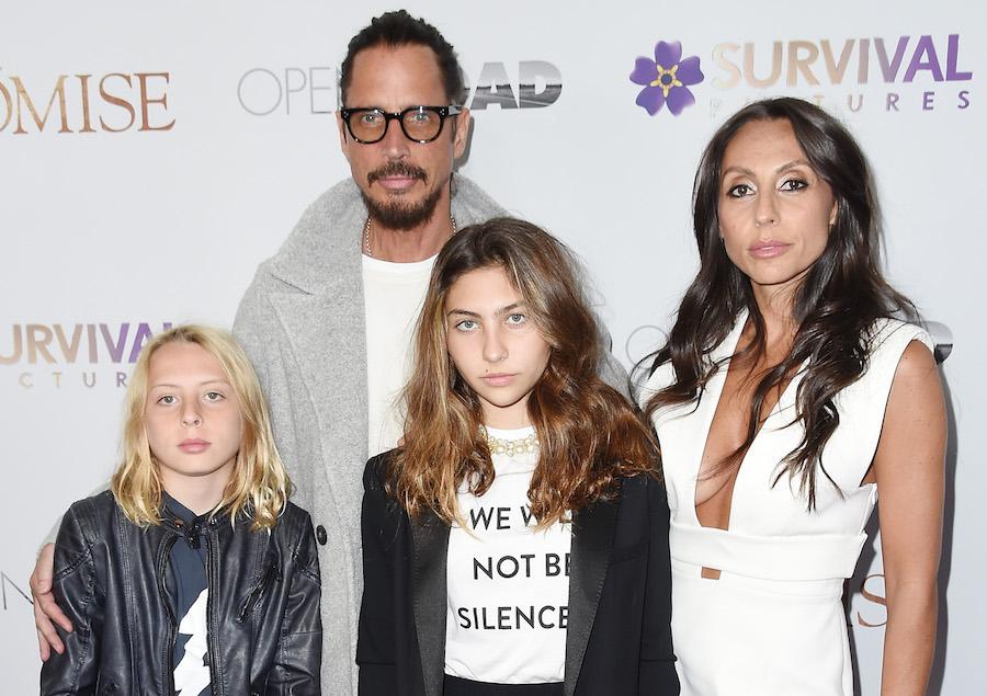 Hija de Chris Cornell le escribe emotiva carta por el Día del padre