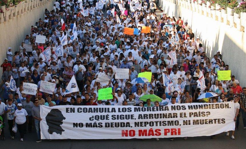 Frente por la dignidad de Coahuila y Guillermo Anaya