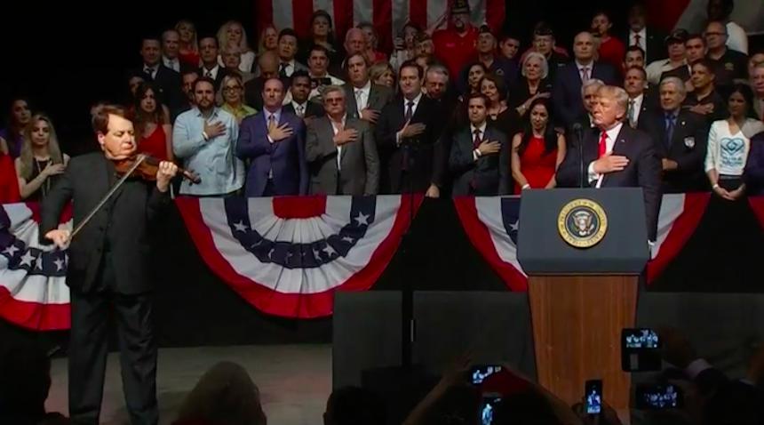 Donald Trump presenta sus nuevas políticas sobre Cuba