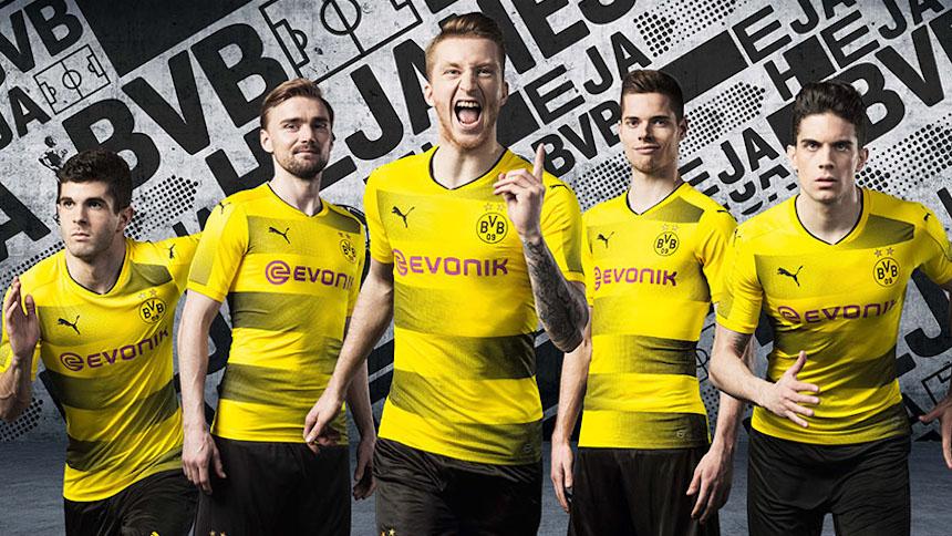 Checa cómo se ve el nuevo uniforme del Borussia Dortmund