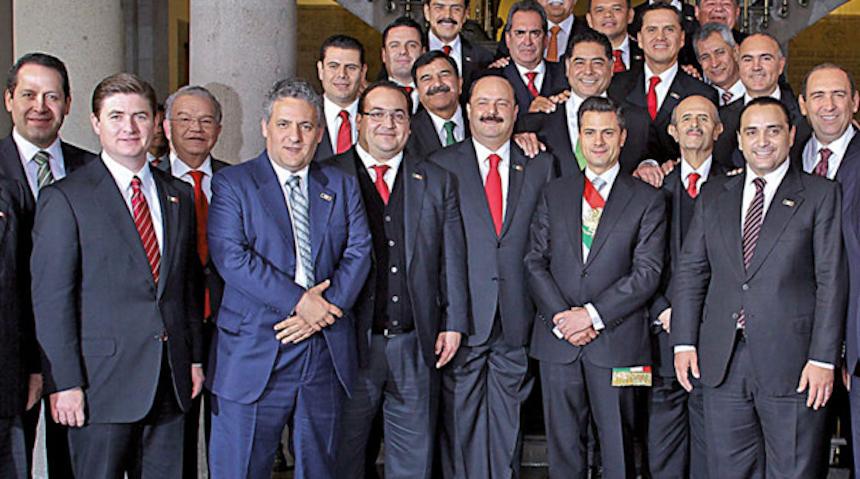 Corrupción gobernadores y funcionarios