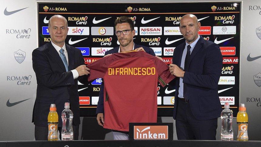 Di Franceso nuevo entrenador de Héctor Moreno en la Roma