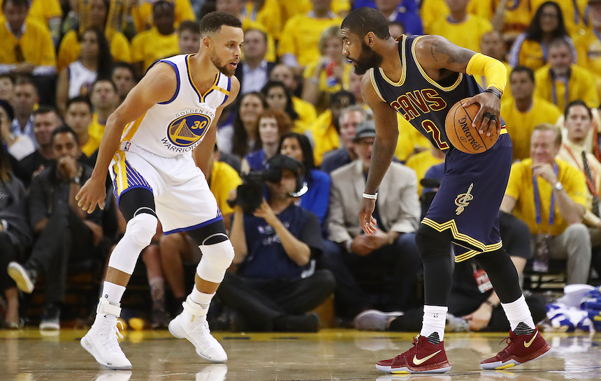Warriors, imparable, humilló a Cleveland