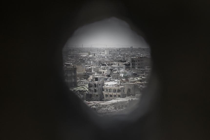 Un francotirador en Mosul