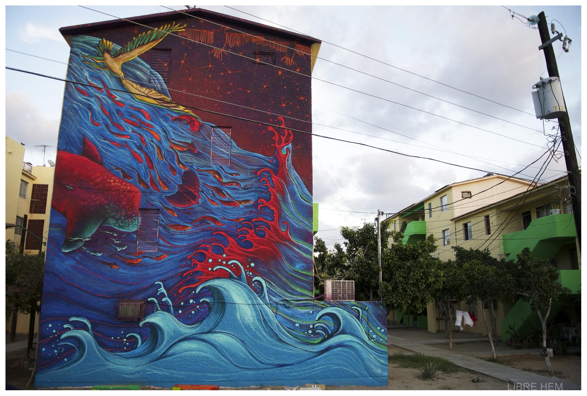 Mural del mar