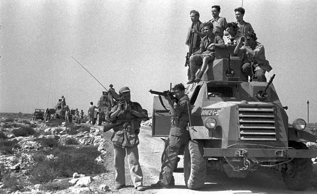Soldados participantes de la Guerra de los Seis Años