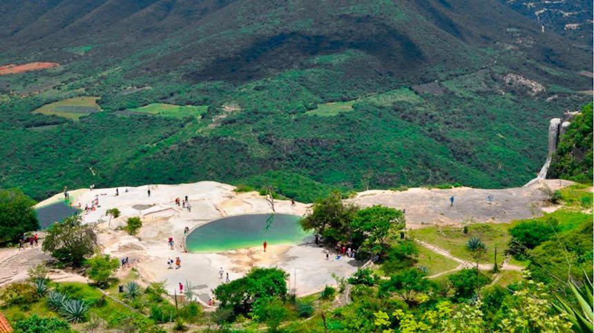 Hierve el Agua - Albercas naturales de Oaxaca