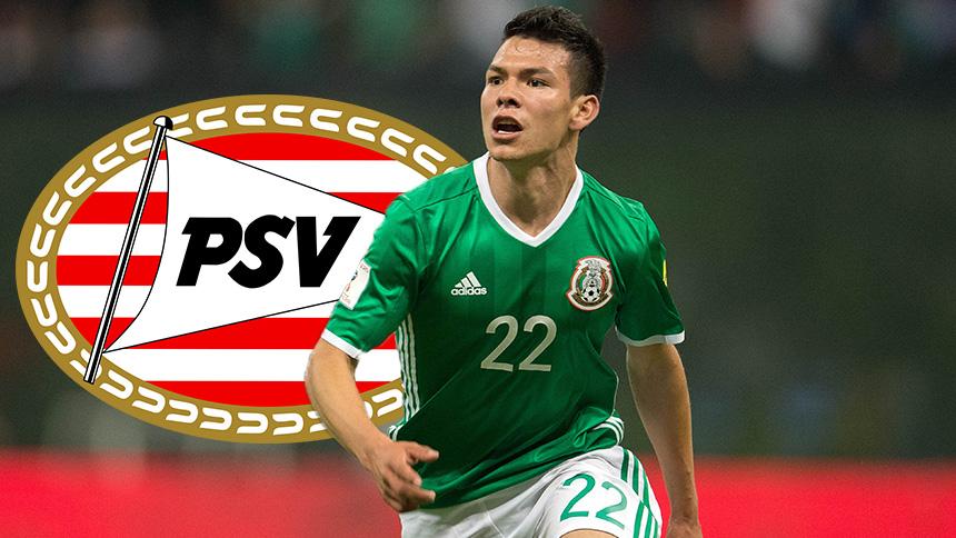 ¡Otro mexicano en Europa! Hirving Lozano se va al PSV