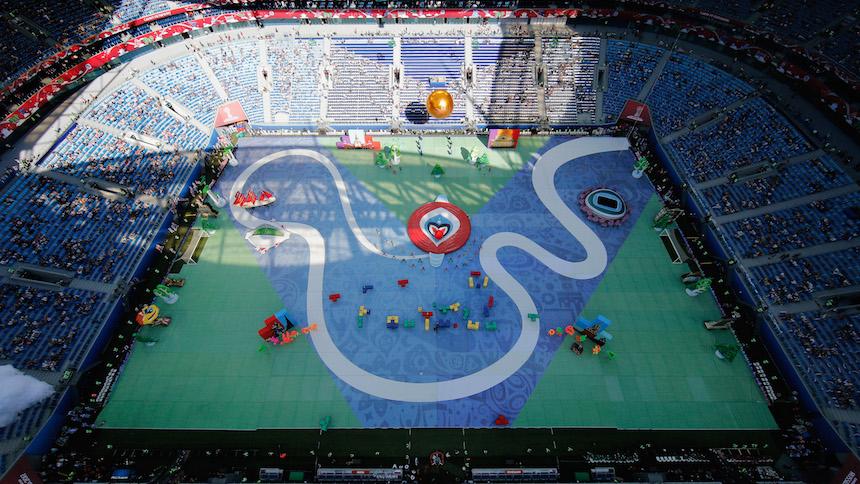 ¡Así estuvo la inauguración de la Copa Confederaciones!