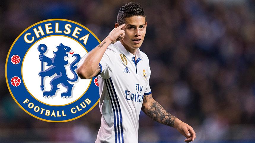 ¡80 millones de euros por James Rodríguez al Chelsea!