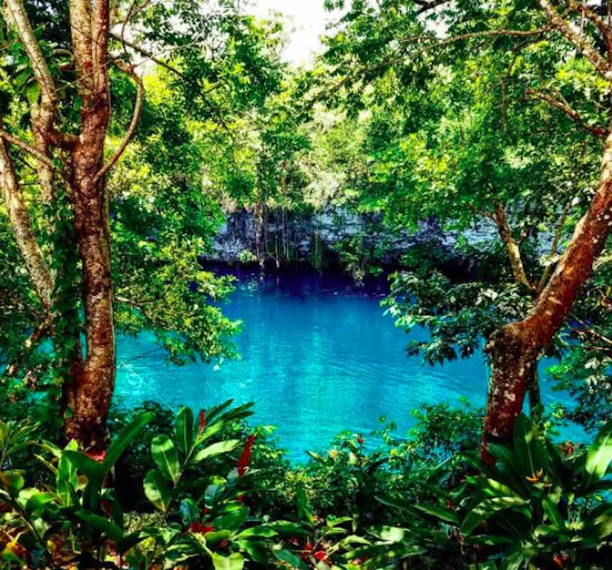 Albercas naturales - Laguna El Dudú
