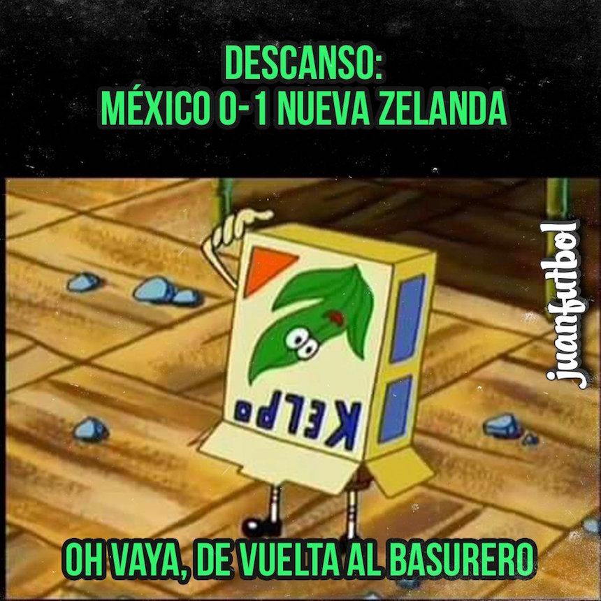 memes mexico nueva zelanda confederaciones