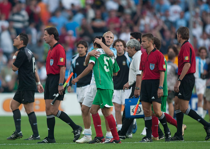 México vs Argentina 2005
