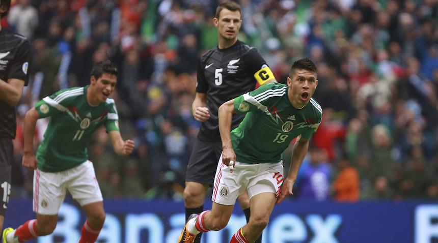 ¿Quiénes quedan de la goleada de México a Nueva Zelanda en el Azteca?