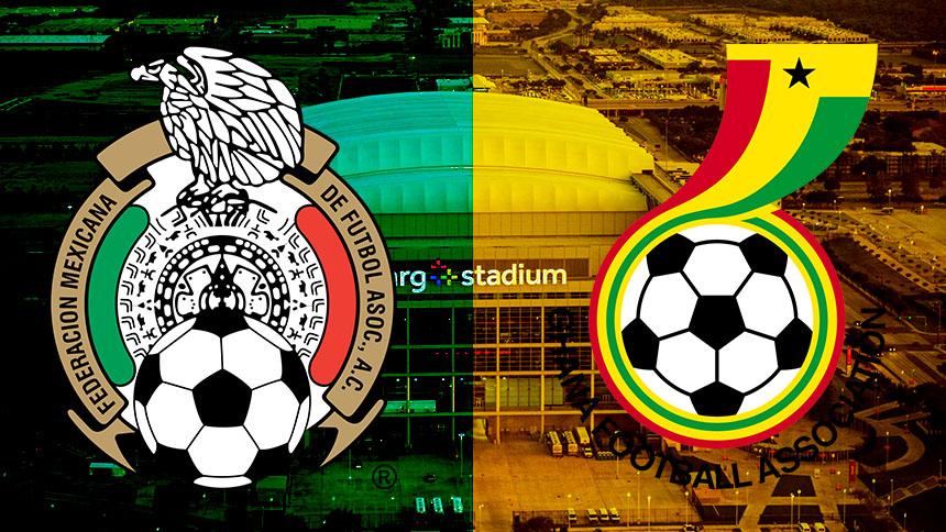 En vivo: del moletour para ustedes, México contra Ghana