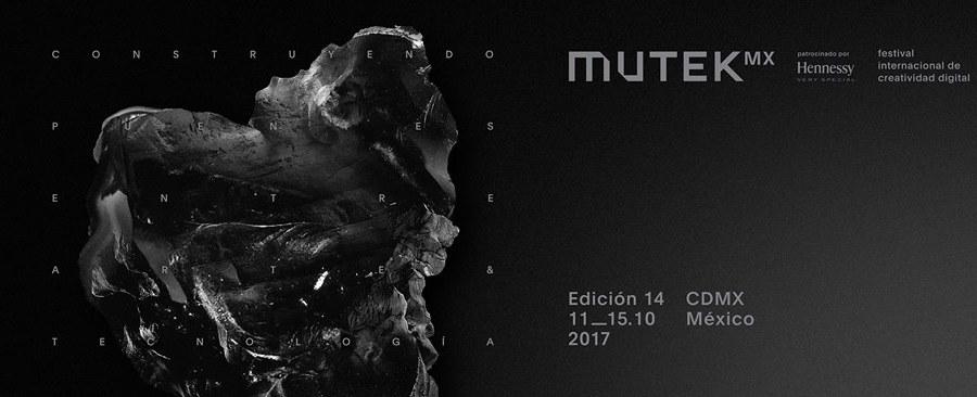 ¡Estos son los primeros artistas confirmados para MUTEK MX 2017!