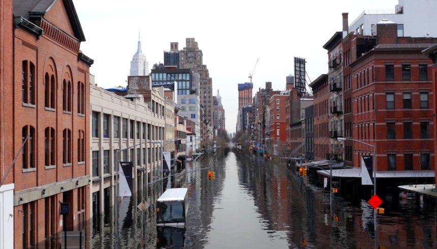 Nueva York inundada