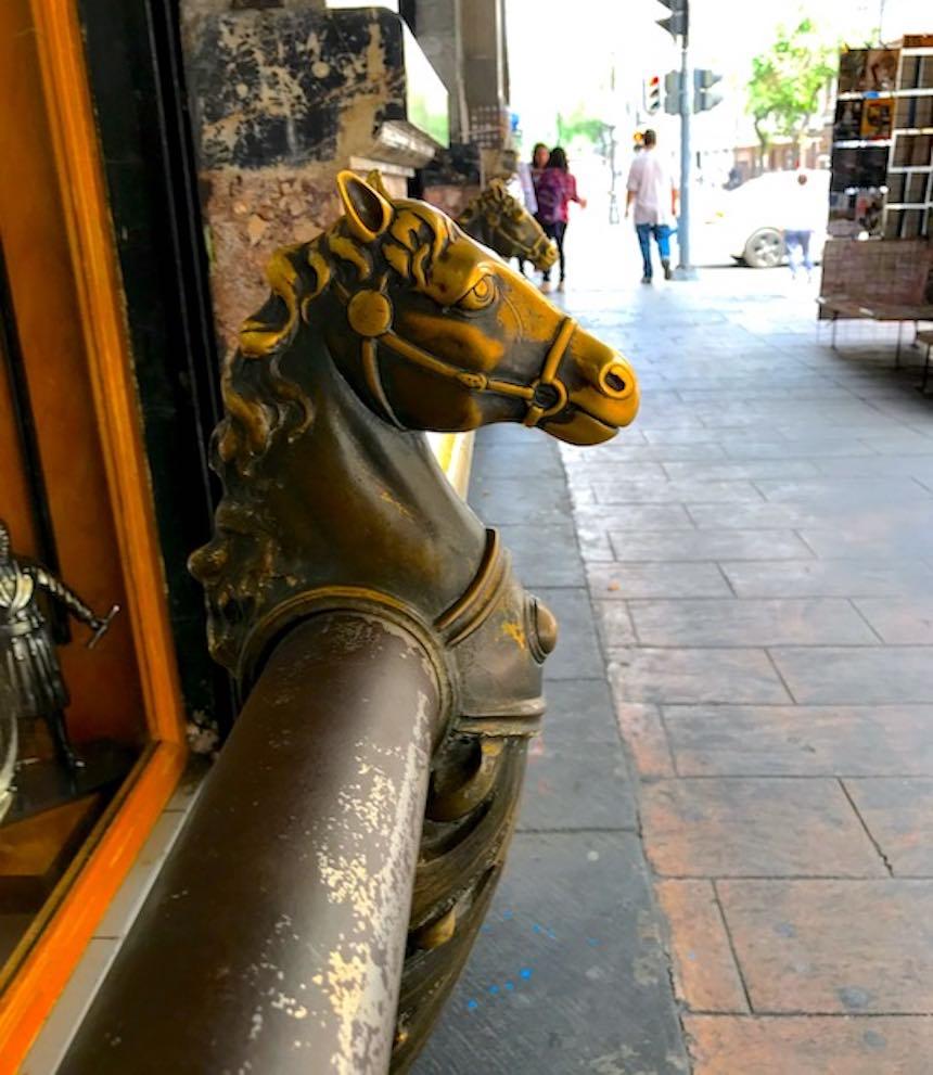 Vagando - El caballo del barandal en la Palestina