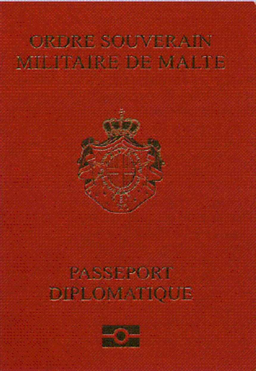 Pasaporte de la Soberana Orden Militar de Malta