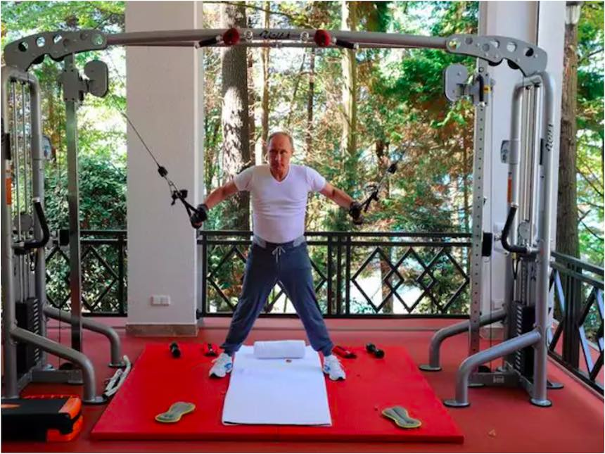 Vladimir Putin - Ejercicio