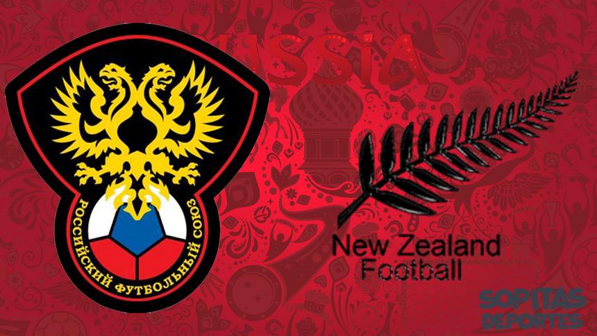 En vivo: el juego inaugural de la Confederaciones ¡Rusia vs Nueva Zelanda!