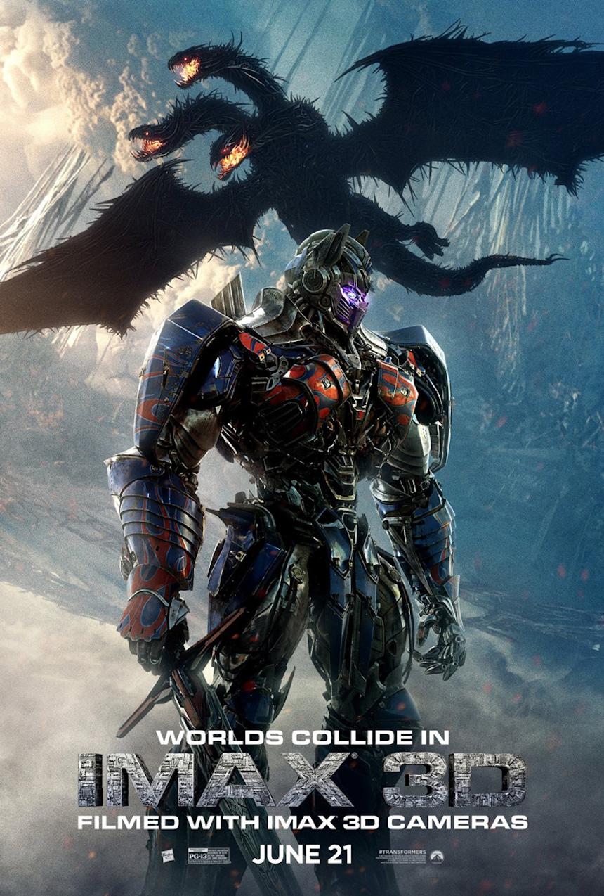 Póster de Transformers: The Last Knight