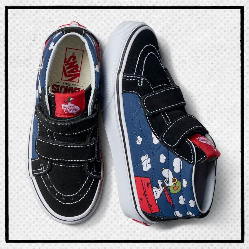 Vans de Snoopy Aviador