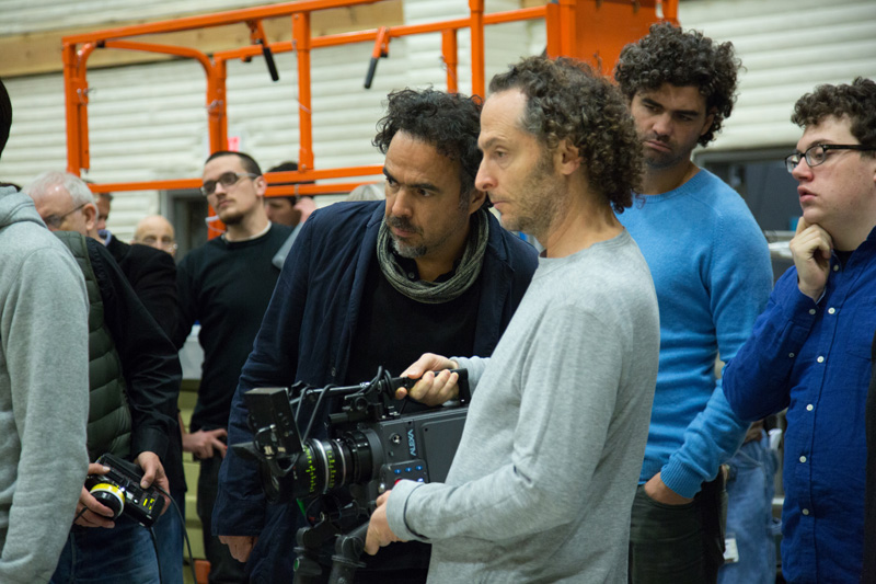 Alejandro González Iñarritu y Emmanuel Lubezki Carne y Arena