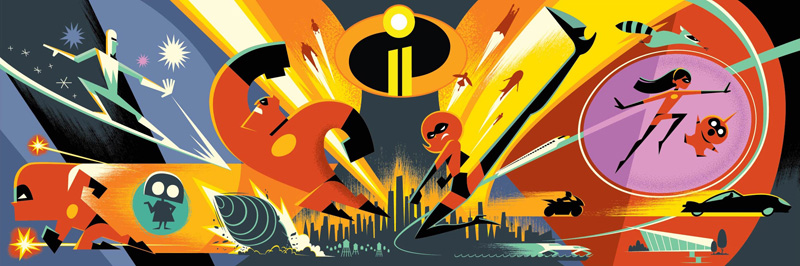 Incredibles Arte D23