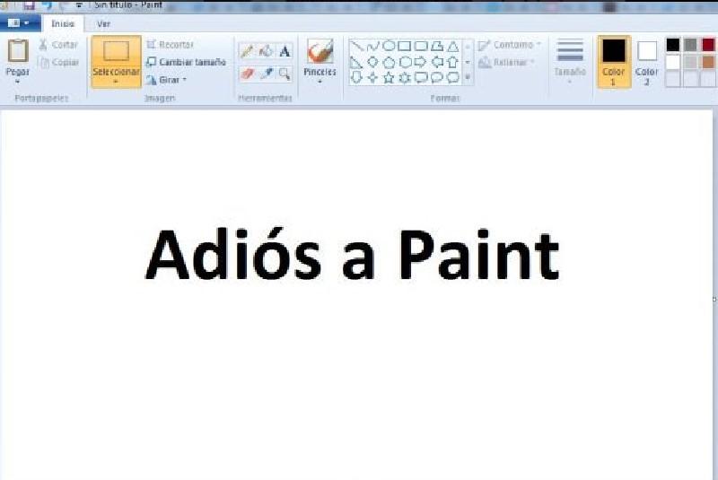 Paint ya no se actualizará