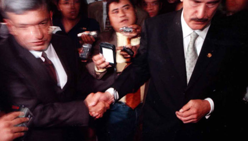Vicente Fox y Andrés Manuel López Obrador