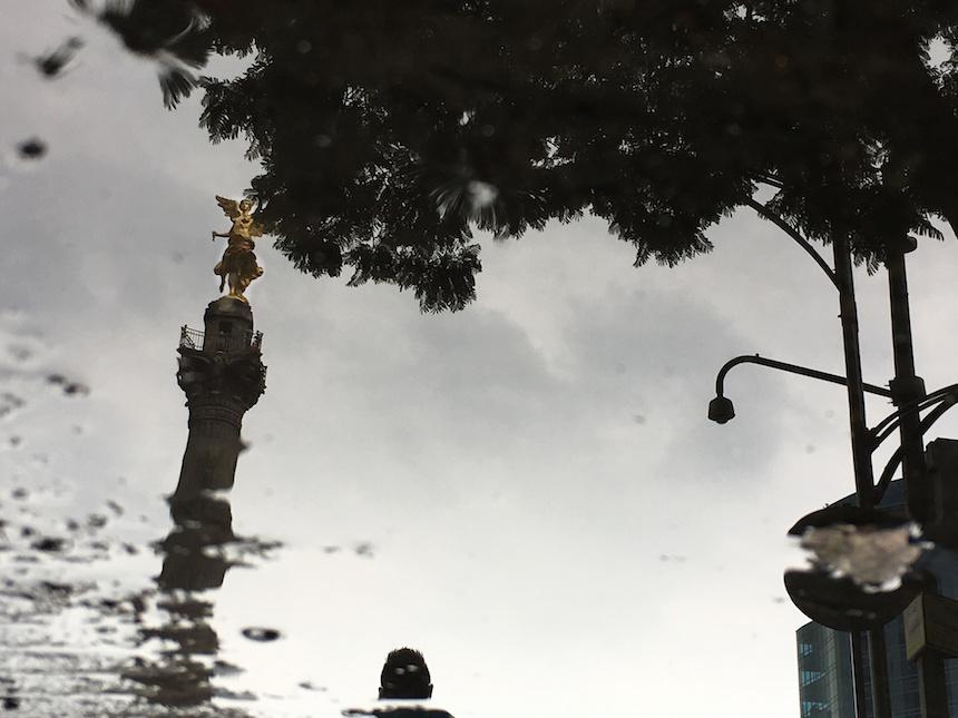 Continuarán las lluvias en la Ciudad de México