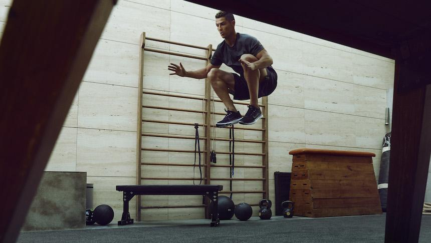¡Ahora puedes entrenar como lo hace Cristiano Ronaldo!