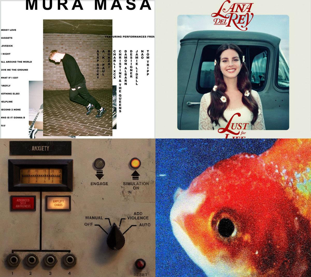 Cinco discos del 2017 que debes de tener en la mira este verano