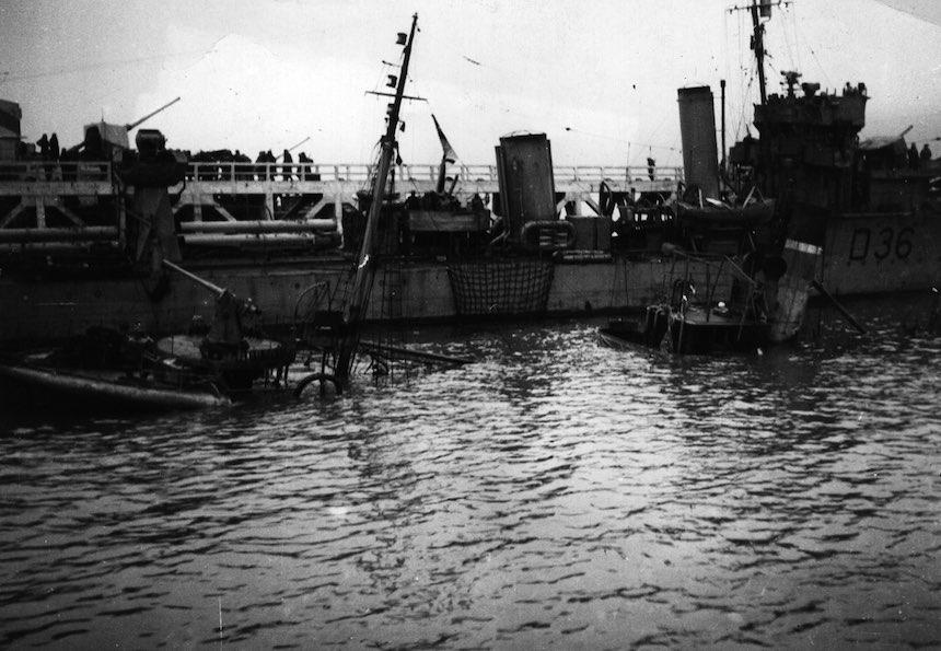 Batalla de Dunkerque - Barcos hundidos