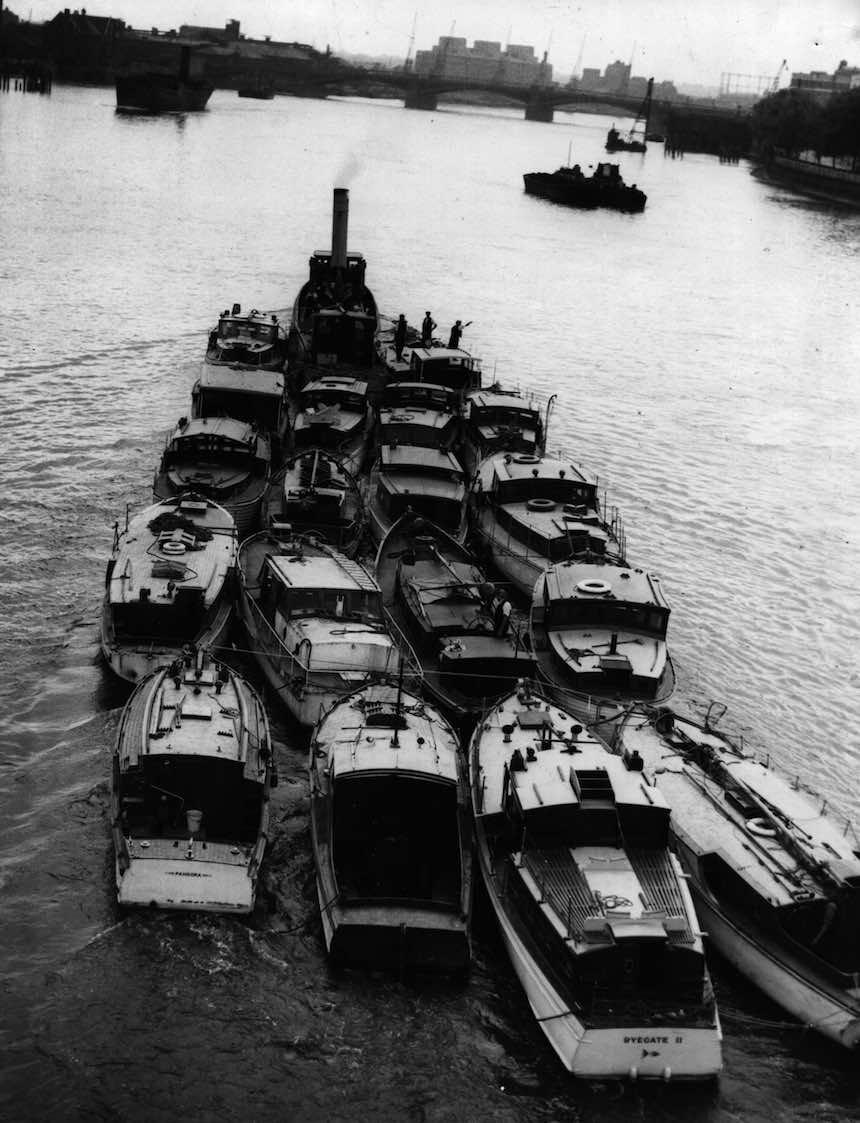 Batalla de Dunkerque - Barcos de rescate