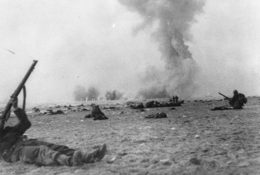 Batalla de Dunkerque - Caos en la playa