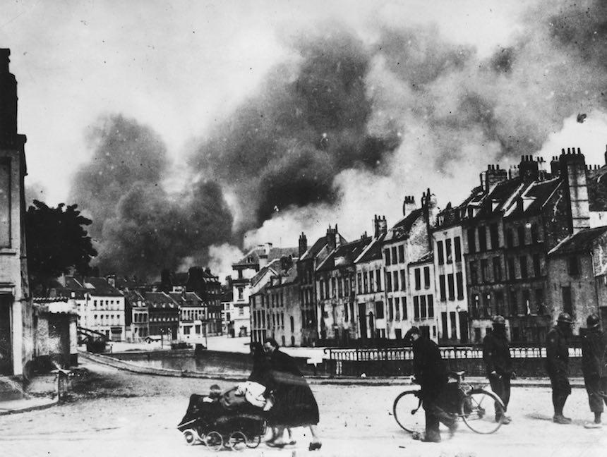 Batalla de Dunkerque - Vista del exterior