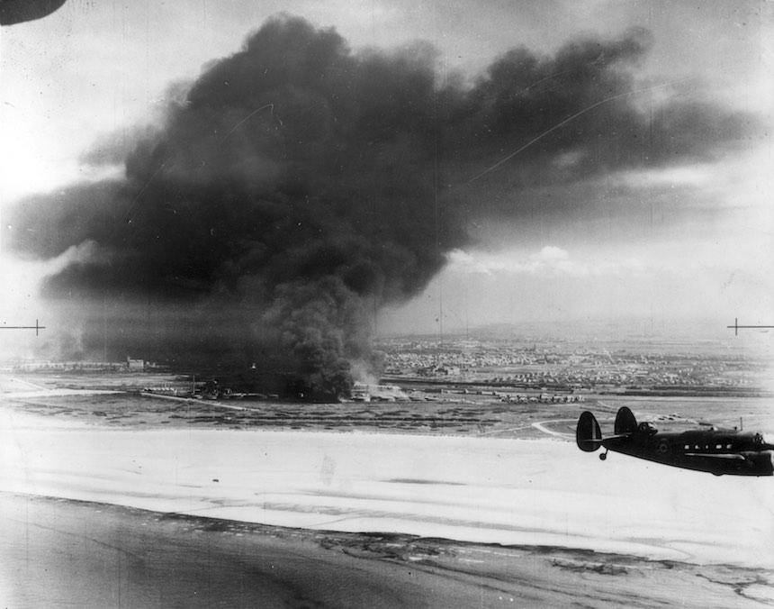 Batalla de Dunkerque - Explosión