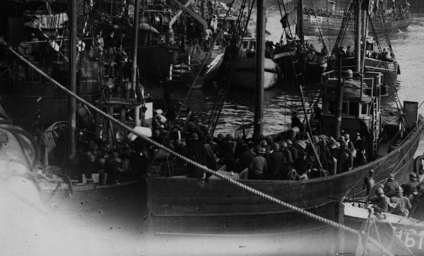 Batalla de Dunkerque - Evacuación