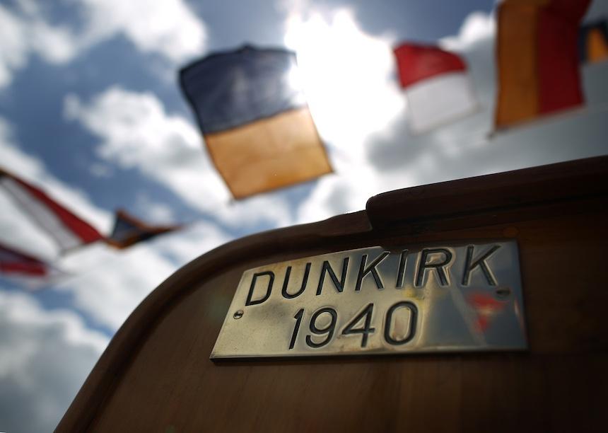 Dunkerque - Placa conmemorativa