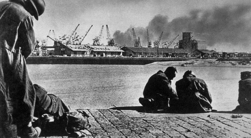 Batalla de Dunkerque - Perspectiva lejana