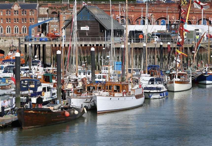 Dunkerque - Costas en el presente