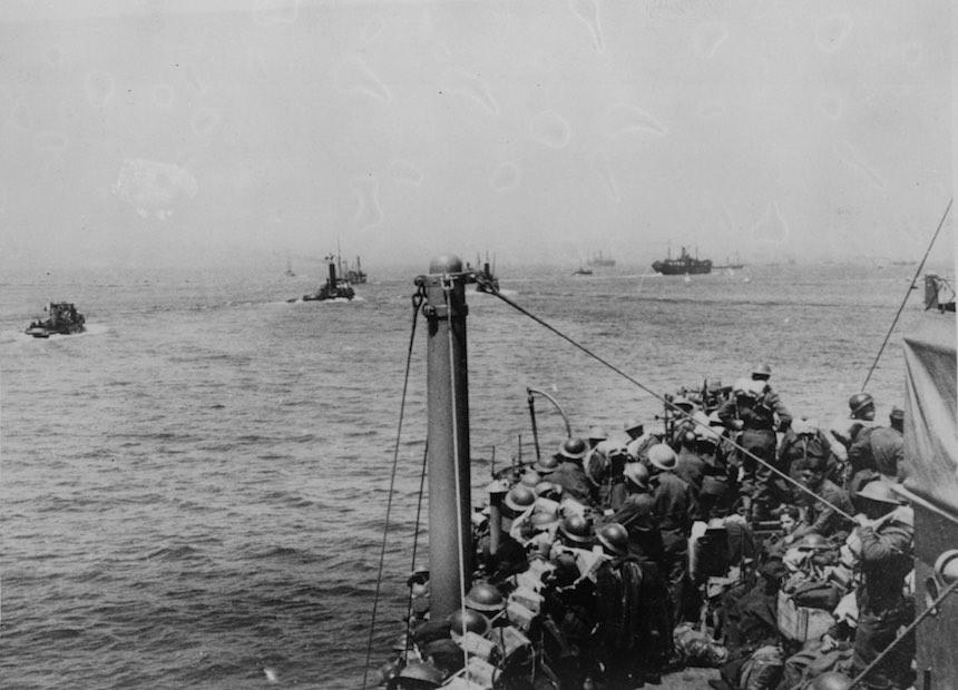 Batalla de Dunkerque - Rescate